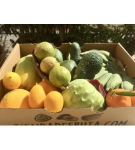 surtido de fruta sin salir de casa