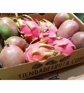 mango y pitahaya